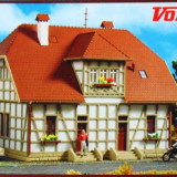 Casa cu schelet din lemn, Vollmer HO 3654, Scara HO(1:87) - Macheta Feroviara Alta, Accesorii