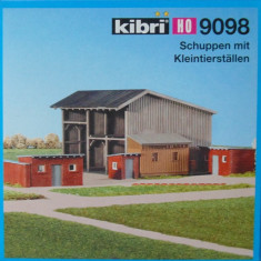 Hambar cu acareturi, Kibri HO 9098, Scara HO(1:87)
