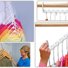 Dulap dormitor - Umeras wonder hanger, ideal pt depozitarea usoara organizator pt dulap