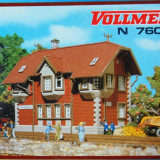 Cladire semnalizare, Vollmer N 7602, Scara N(1:160) - Macheta Feroviara Alta, Altele, Accesorii