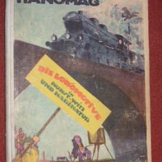 Locomotiva in arta, umor si caricatura - Hanomag, Die Lokomotive in Kunst-Witz und Karikatur (1922)