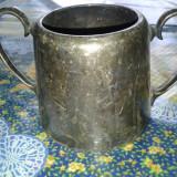 vas ptr ceai din alpaca argintata