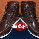 Ghete - Lee Cooper (Barbati) (Negociabil) - Ghete barbati Lee Cooper, Marime: 42, Culoare: Maro, Piele naturala