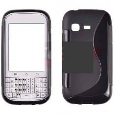 Husa Telefon Samsung, Negru, Silicon, Husa - Toc silicon S-Case Samsung Galaxy Chat B5330