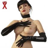 Latex Gloves black Manusi Latex Negre