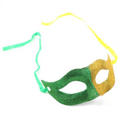 Masca Carnaval Foreplay Adult Venetiana Roleplay Mask Halloween Galben Verde