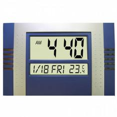 Ceas de perete - Ceas digital de perete cu termometru si calendar