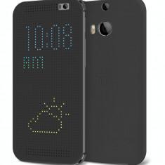 Husa Flip Cover HTC Dot Flip grey pentru ONE M8