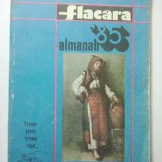 ALMANAH - FLACARA 1985 ( 1458 )