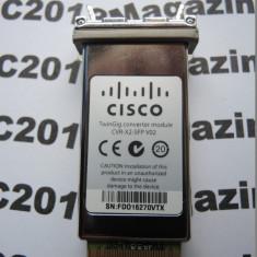 Cisco CVR-X2-SFP V02 TwinGig Converter Module cod 377 - Media convertor