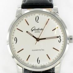 Glashütte Senator Sixties Automatic - calitate maxima ! - Ceas barbatesc Cartier, Casual, Inox, Piele, Analog