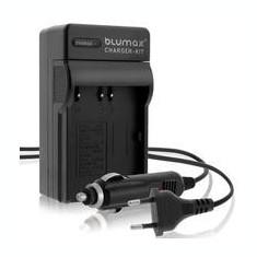 Incarcator Aparat Foto - 1 BLUMAX | Incarcator 3in1 compatibil Casio NP-20 NP20 NP 20
