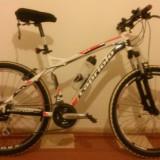Bicicleta capriolo gila - Mountain Bike, 18 inch, 26 inch, Numar viteze: 7, Aluminiu, Negru-Rosu