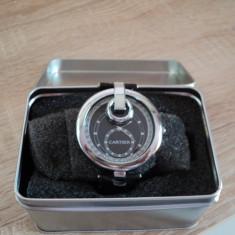 Ceas replica Cartier unisex - Ceas dama Cartier, Quartz, Piele - imitatie, Diametru carcasa: 38