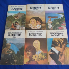 MARIE-ANNE DESMAREST - TORENTE ( ROMAN ) * SET COMPLET 6 VOLUME - 1992