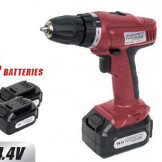 Masina de gaurit - 030111 - Masina pentru gaurire si insurubare cu baterie 14.4 V - 2 baterii