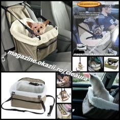 GEANTA AUTO IMPERMEABILA PROTECTIE SCAUN MASINA CAINI PISICI ANIMALE COMPANIE - Husa Auto