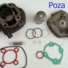 Set cilindri Moto - Kit Cilindru / Set Motor + CHIULOASA Scuter Malaguti F12 / F12R / F15 ( 80cc )