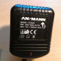 Alimentator Ansmann 12V 1000mA
