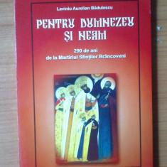N1 Pentru Dumnezeu si neam - 290 de ani de la Martiriul Sfintilor Brancoveni - Carti Crestinism