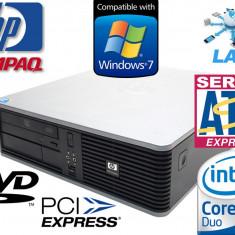 Sisteme desktop fara monitor HP, Intel Core 2 Duo, 2501-3000Mhz, 4 GB, 100-199 GB, LGA775 - CALCULATOR HP DC7900 CORE2DUO E6550 4GB RAM HDD 160 GB DVD GARANTIE 6 LUNI!