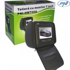 Resigilat - Tetieră 7 inch PNI HM700A-B negru cu fermoar - DVD Player Portabil