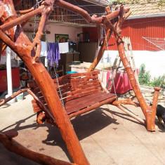 Leagan/Balansoar - Balansoar de gradina rustic