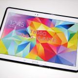 Husa tableta GALAXY Tab S T800 / T805, tip bumper, neagra, x-line, 10.5 inch, Samsung