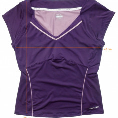 Tricou sport REEBOK PlayDry impecabil (dama XL) cod-169078 - Tricou dama Reebok, Culoare: Alta, Maneca scurta