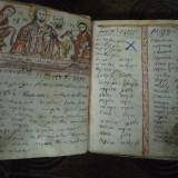 Carte veche - MANUSCRIS ROMANESC MINIAT 1852-1857