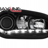 Faruri tuning - Faruri DAYLINE VW Golf IV 97-04 negru