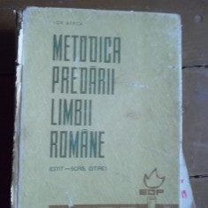 Carti de stiinta - METODICA PREDARII LIMBII ROMANE