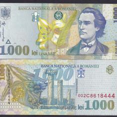 Bancnote Romanesti, An: 1998 - ROMANIA 1000 1.000 LEI 1998 [1] UNC, necirculata