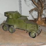 + Macheta asamblata 1:35 - BA-3 Russian Broneavtomobil 3 + - Macheta auto