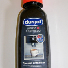 Detartrant special masini cafea Durgol - Detergent Auto