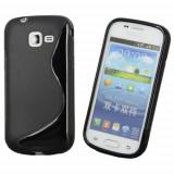 Husa Samsung Galaxy Trend Lite S7390 TPU S-LINE Black
