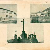 Romania, Resita, carte postala multipla necirculata: 3 imagini - Carte Postala Banat 1904-1918, Necirculata, Fotografie, Resita