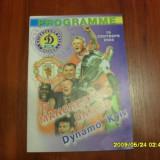 program   Dinamo  Kiev  -  Manchester  United