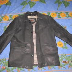 Geaca barbati, Piele - Geaca de Piele Marimea:M, Interactive London Leatherwear, Geaca din piele 100%