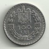 ROMANIA CAROL II 100 LEI 1932 XF [1] Livrare in cartonas - Moneda Romania, Argint
