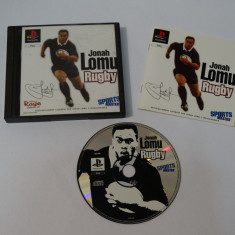 Joc consola Sony Playstation 1 PS1 PS One - Jonah Lomu Rugby, Actiune, Toate varstele, Single player