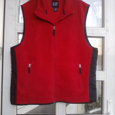 Vesta barbati polar fleece firma GAP, XL-masurati !!!, Poliester