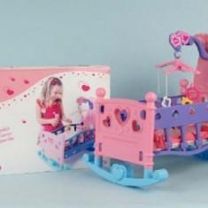 Pat copii - Patut balansoar pentru papusi cu carusel