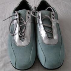 Adidasi dama Geox, Piele intoarsa - Pantof sport dama Geox Respira piele marimea 40 - EP 0382904 - NOU!!!