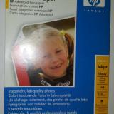 Vand hartie foto glossy HP Advanced Photo Paper sigilata, A4, 25 coli, 250g/m2