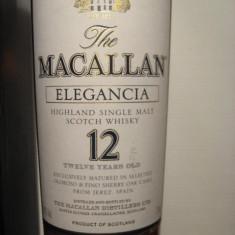 R A R E - whisky macallan 12yo elegancia l. 1 vol. 40