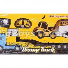 Set Camion si Excavator cu telecomanda 2 in 1