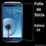 FOLIE STICLA Samsung Galaxy S3 0.33mm, 2.5D tempered glass securizata PROTECTIE - Folie de protectie Samsung, Anti zgariere