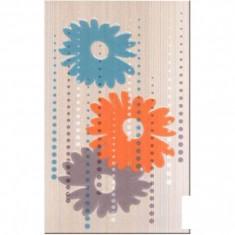 Faianta decorativa Cesarom Rainbow floral - 25 x 40 cm