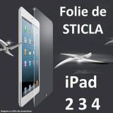 Folie protectie tableta, 9.7 inch, iPad 2/3/4 - FOLIE de STICLA Apple iPad 2/3/4 0.4mm tempered glass antisoc PROTECTIE ECRAN